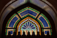 Window in Grand Mosque Royalty Free Stock Photography