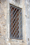 Window grates Royalty Free Stock Photography