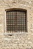 Window with a grating Stock Image