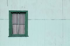 Window in green tones Stock Image