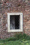 Window with grids Royalty Free Stock Photography