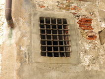 Window with grilles Stock Photography