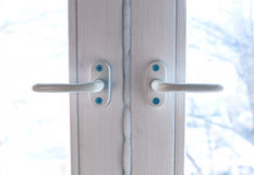 Window handles Stock Image