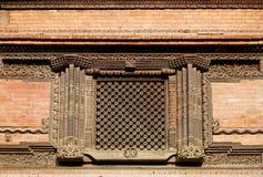Window in Hanuman Dhoka Durbar Royalty Free Stock Photography