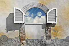 Window on heaven Royalty Free Stock Photography