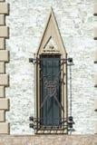 Window with heraldic details Stock Photos