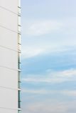 Window of high building with sky Royalty Free Stock Images