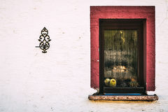Window. From Hirschhorn, in Germany Royalty Free Stock Image