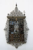 Window on a historical facade, Seville, Andalusia, Spain. Royalty Free Stock Photography