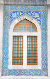 Window of Hobyar Mosque Royalty Free Stock Photos