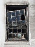 Fire damage stock photo
