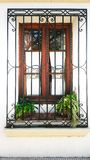 Window of a house, the only relationship intimacy and exterior stock images