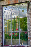 Window, Huntington Castle, Co. Carlow, Ireland Stock Images