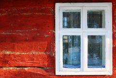 Window Hut Stock Image