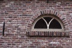 Window ia historical Dutch farmhouse. A classic window in a historical farmhouse in the Netherlands stock photos
