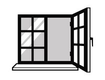 Window icon Stock Photo