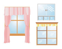 Window Icons Stock Images