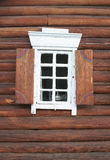 Window In A Wooden House Royalty Free Stock Images