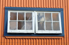Window on industrial building Royalty Free Stock Photography