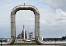 WIndow on industry stock image