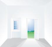 Window inside one Stock Photography