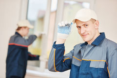 Free Window Installation Worker Stock Photos - 70057553