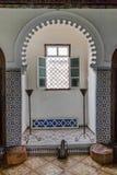 Window inTetuan in Morocco Stock Image
