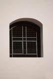 Window with iron bars Stock Photo