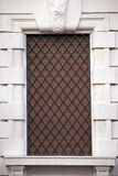 Window with iron bars Stock Images