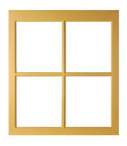 Window isolated Royalty Free Stock Photos