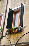 Window in italian style Royalty Free Stock Photo