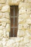 Window in John´s castle in Lednice/Valtice region, Czech republic Royalty Free Stock Images