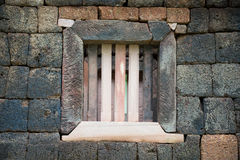 Window of khmer Prasada Royalty Free Stock Images
