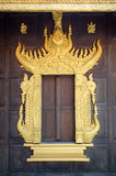 Window palace of kings. Window of kings Palace in studio thailand Stock Photography