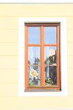 Window with kite Stock Image