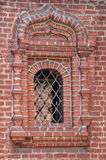 Window of the Krutitsy Patriarchal Metochion Stock Photo