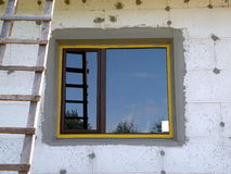 Window and ladder Stock Image