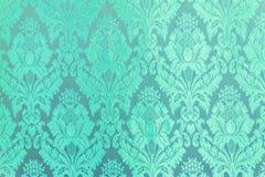 Window Lai Thai pattern green Stock Image