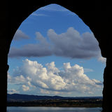 Window on the lake Royalty Free Stock Photography