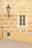Window and lamp Royalty Free Stock Photos
