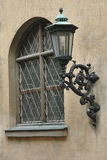 Window and lantern at the Residenz Palace in Munich, Germany Royalty Free Stock Image