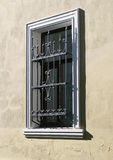 Window with a lattice Royalty Free Stock Image
