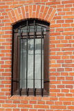 Window with a lattice royalty free stock photo