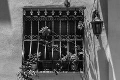 Window with lattice on Malta Royalty Free Stock Photography