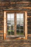 Window leadlights Delsbo Stock Image