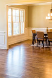 Window Light on New Hardwood Floor Royalty Free Stock Photography
