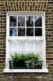 Window in London Stock Photo