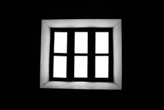Window. Looking on the window of the prison's cell royalty free stock photos