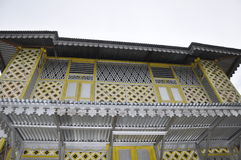 Window of Masjid Ihsaniah Iskandariah at Kuala Kangsar Royalty Free Stock Photos