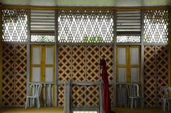 Window of Masjid Ihsaniah Iskandariah at Kuala Kangsar Royalty Free Stock Images